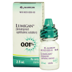 LUMIGAN GOTAS 0.01 2.5 ML