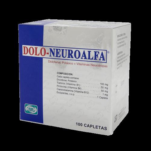 DOLO-NEURO ALFA X 100TAB***DET