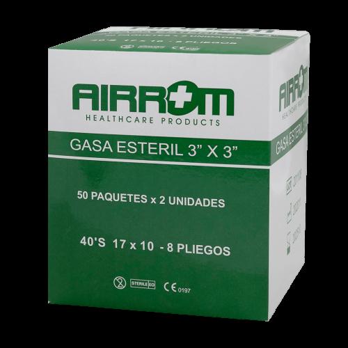 GASA ESTERIL AIRROM 4 X 4 50 SOBRES DE 2 ***DET