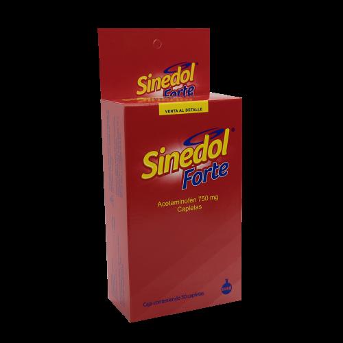 SINEDOL FORTE X 50CAP***DET