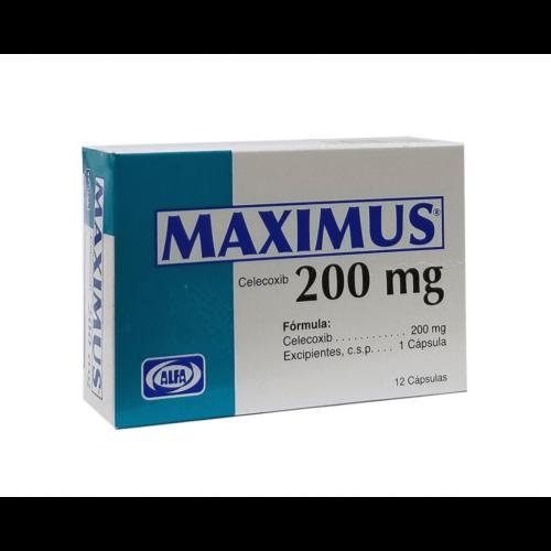 MAXIMUS 200MG X 12CAPS