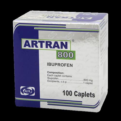 ARTRAN 800MG X 100TAB***DET