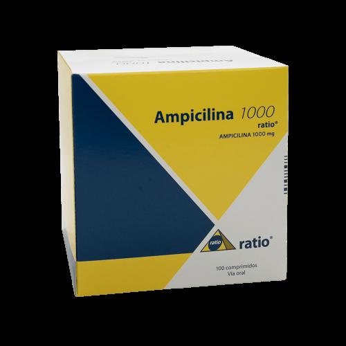 AMPICILINA RATIO 1000 X 100 TAB****DET