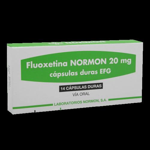 FLUOXETINA NORMON 20MG X 14TAB