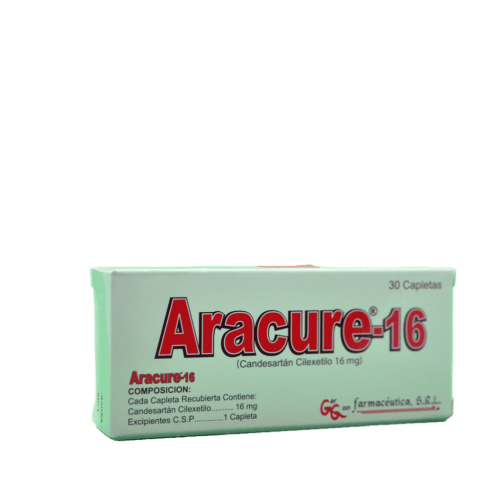 ARACURE 16MG X 30TAB***DET