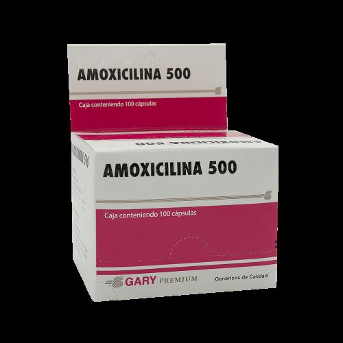 AMOXICILINA GARY 500MG X 100CAP***DET