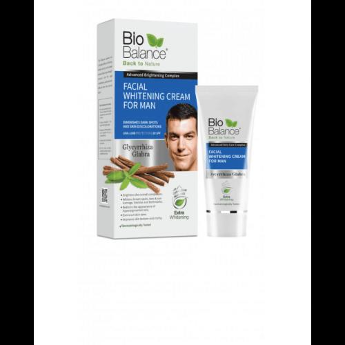 Biobalance Crema Facial Aclarante Para Hombres