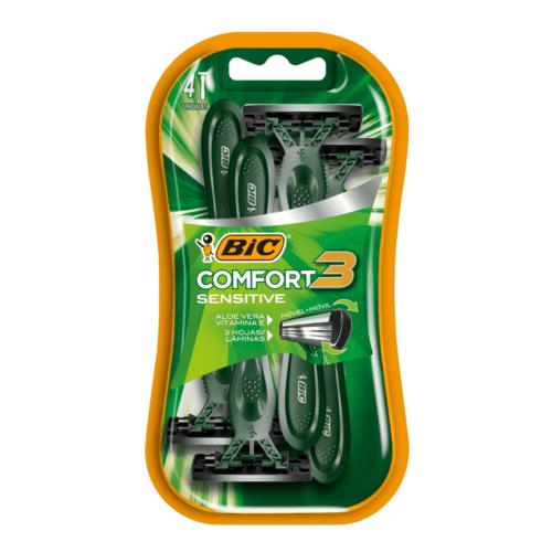 Bic bls 4/1 rasurador comfort 3 piel sens.