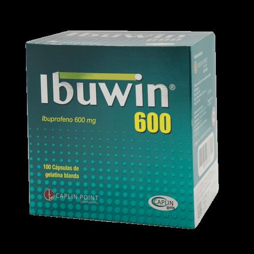IBUWIN 600MG X 100 CAPS BLANDAS ***DET